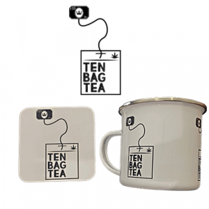 tenbagtea coaster and mug